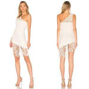 Lovers + Friends Yazmin Dress Ivory Lace Crochet